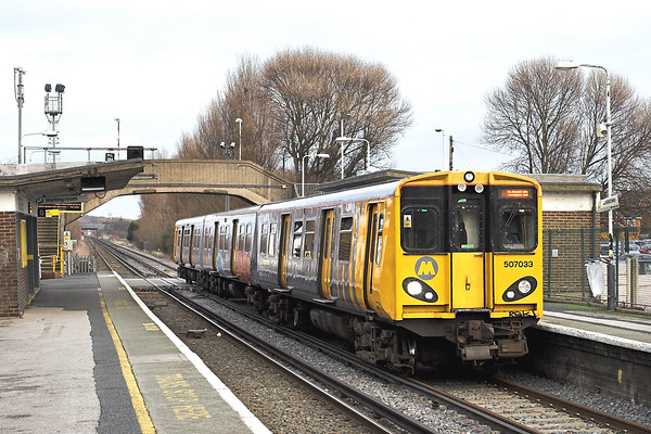 9th January 2012: Merseyrail Wirral Line
