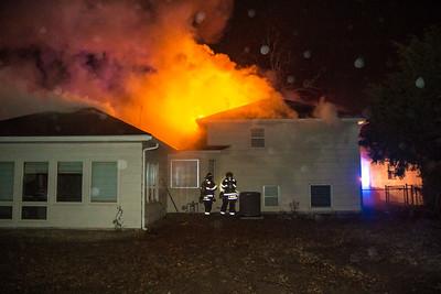 House Fire 9411 W. Nantucket (2/20/15)
