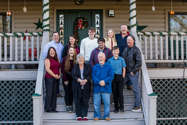 Hipsky Family Photos, Christmas 2018