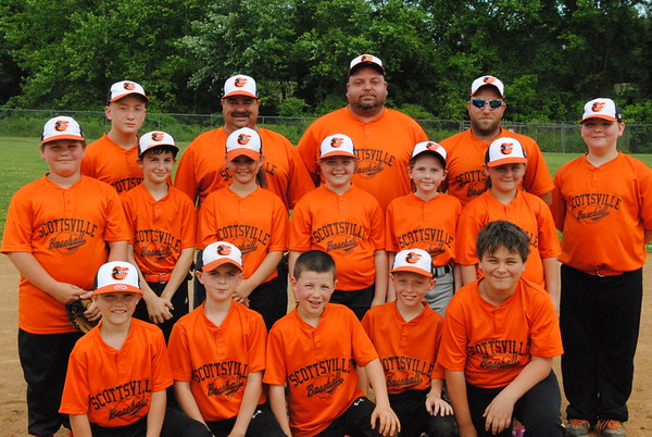 Scottsville Baseball Orange