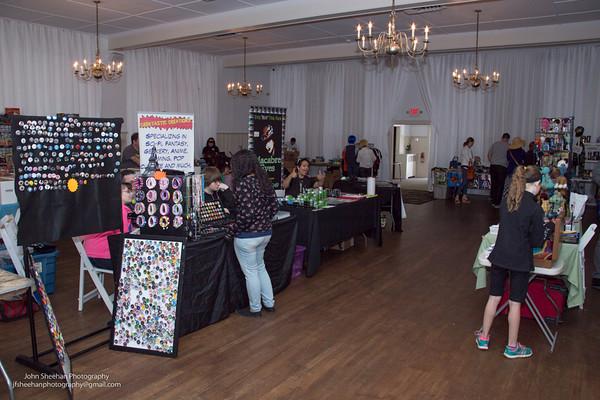 Hampton's Comic Book Show 5/23/15