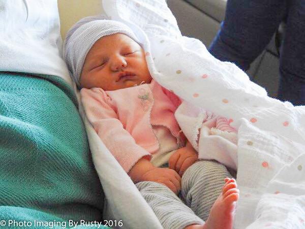Scout Rebeka Russ Was Born - 4-28-16