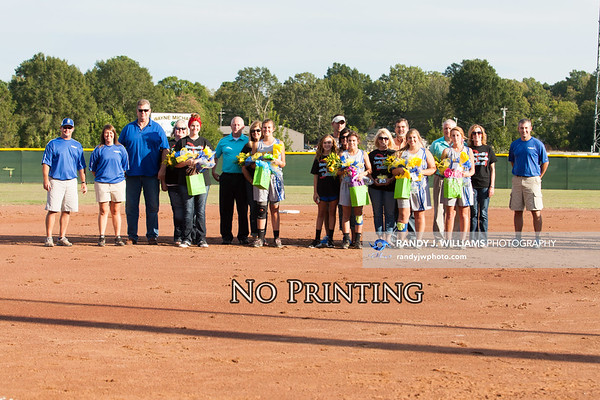 Booneville High's Slow-Pitch Seniors