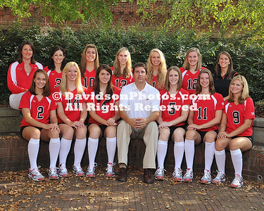 Volleyball Team & Group Shots 2009