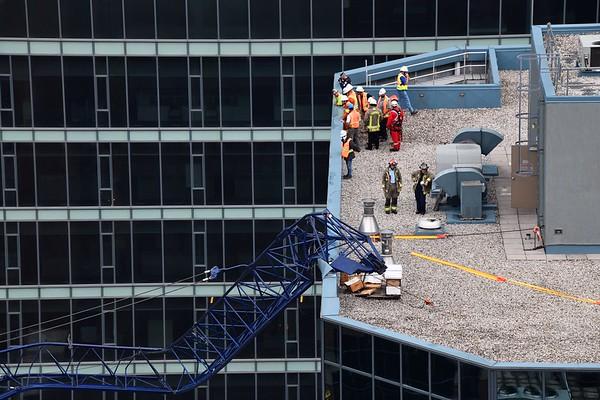 July 16, 2020 - Crane Collapse - 145 Wellington St W.