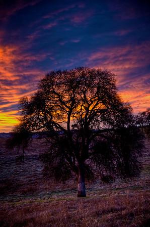 HDR Sunrise Sunset