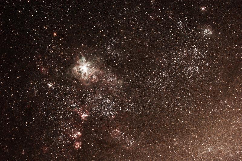 Caldwell 103 - 30 Doradus Tarantula Nebula - 13/01/2018 (Processed stack)