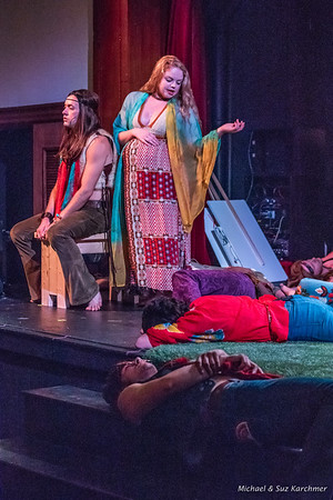 Peregrine Ensemble Theatre 2018 Production of HAIR