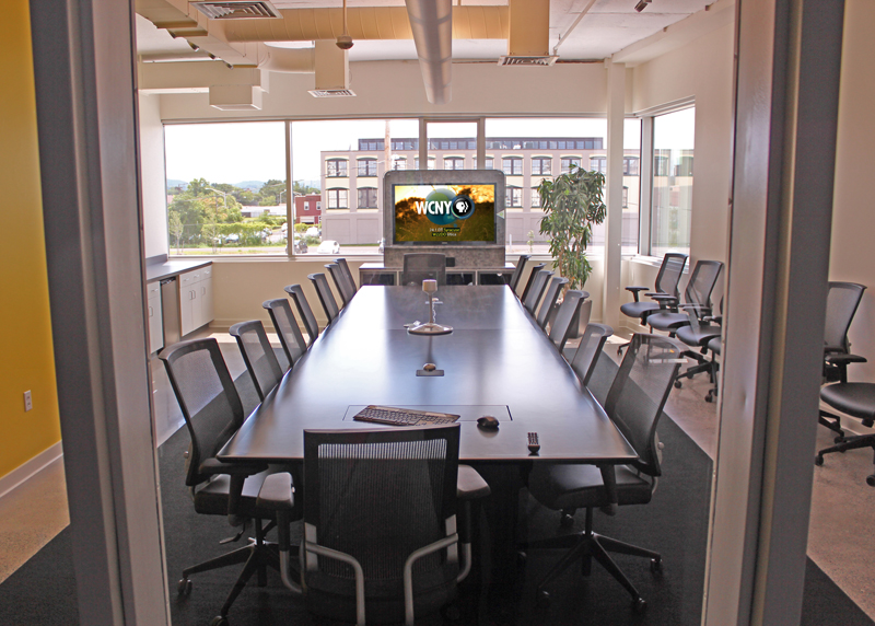 . The new boardroom.