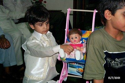 Mustafa's Birthday-15July2001