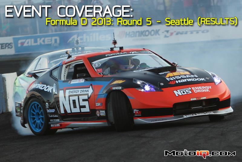 Formula Drift 2013 Evergreen Speedway Chris Forsberg