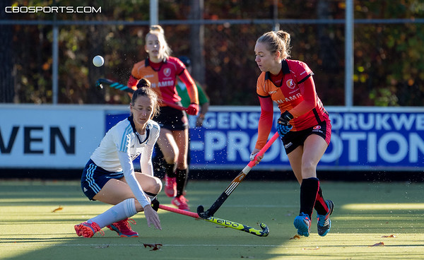 2018-10-28: HC Tilburg D2 - Oranje Rood D2