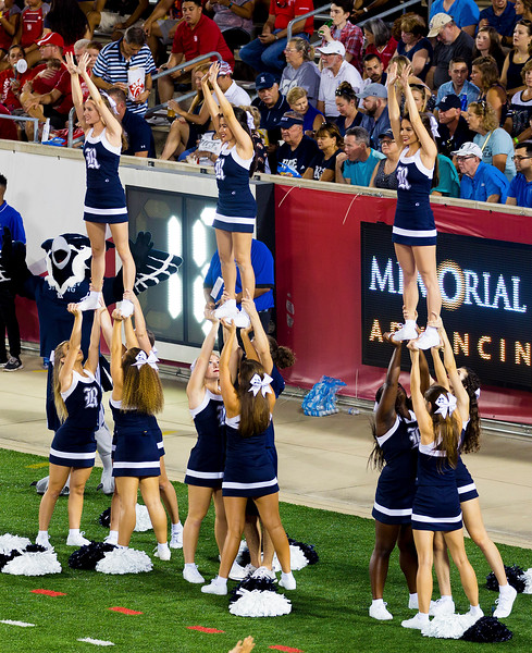 The Rice cheerleaders are not giving up yet.