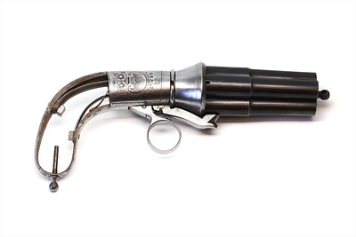 Casimir Lefaucheux Pinfire Pepperbox