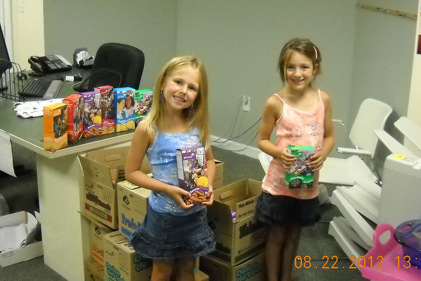 Girl Scouts Cookie Donation -2012