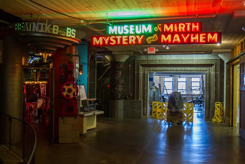 Museum of Mirth Mystery and Mayhem