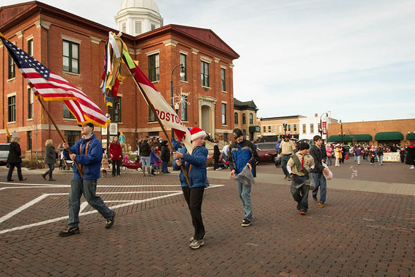 Woodstock Christmas Parade 2012