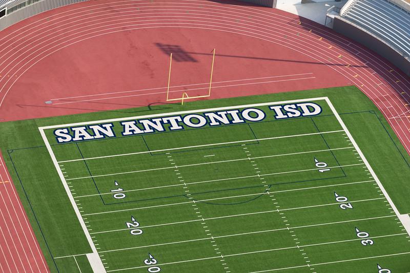 09/23/2014 093116 -- San Antonio, TX -- © Copyright 2014 Mark C. Greenberg  Alamo Stadium