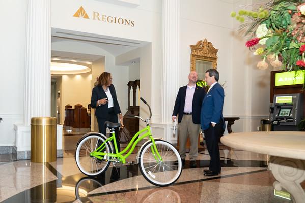 MMBC Regions Bank EDF - Bicycle Winner