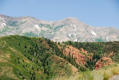 Mt Nebo, Provo Canyon & Alpine Loop, UT 2008
