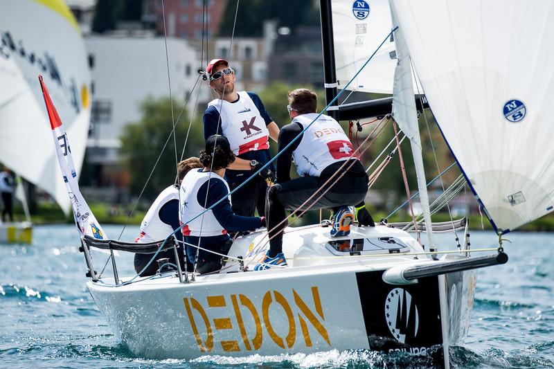 2018 Sailing Champions League, Final, St Moritz