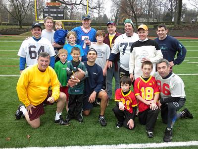 Thanksgiving alumni football and soccer games