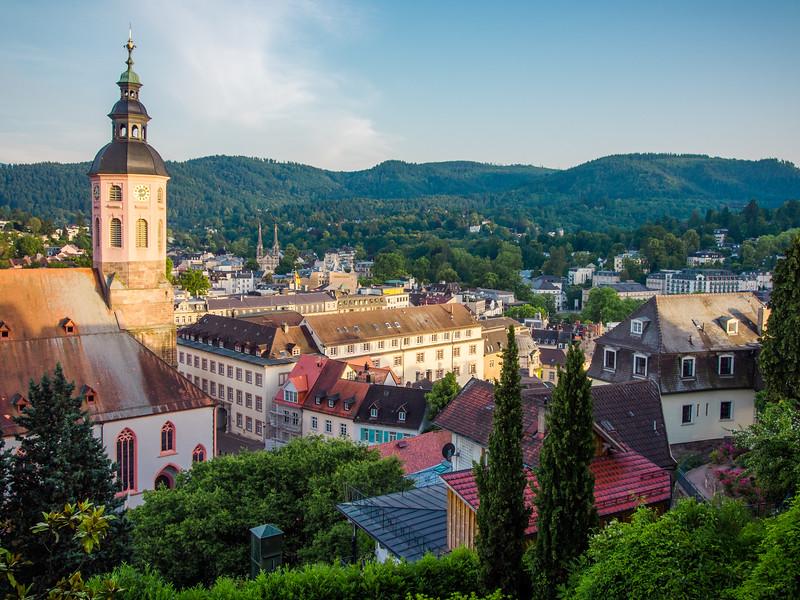Overlooking Baden Baden, Germany