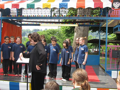 Choir Concert at Oaks Park