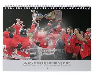 2020 Canada Box Lacrosse Calendar
