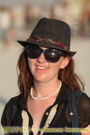 Mixed small Burning Man happenings