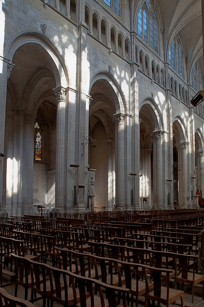 Vienne, Saint-Maurice Cathedral Nave Arcade