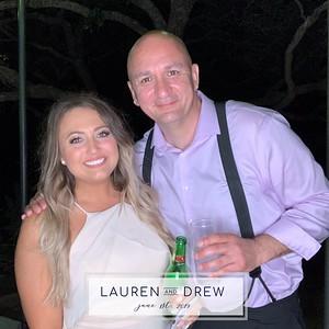 6.1.2019 - Lauren & Drew's Wedding