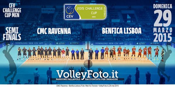 CMC Ravenna - Benfica Lisboa