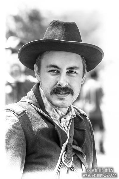 Handsome Soldier    Photography by Wayne Heim