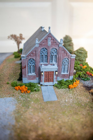 Rever Trainset Church Model