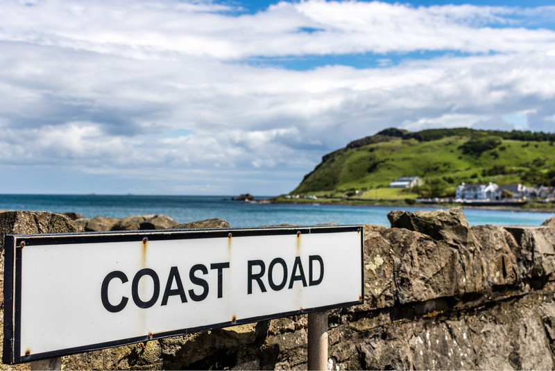 Causeway Coast Sign - Things to do in Belfast