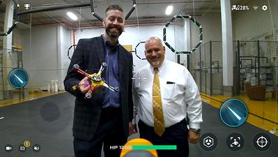UAlbany President Havidán Rodríguez visits Drone Lab