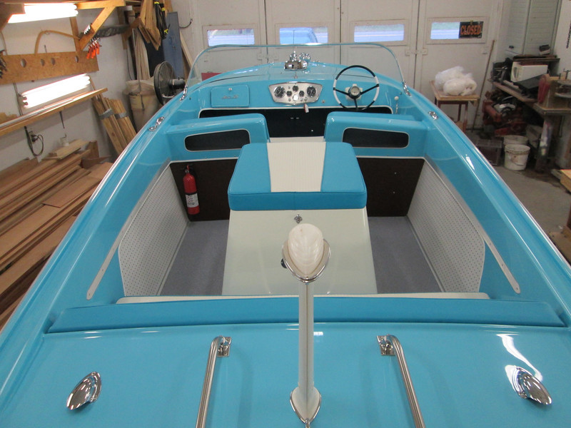 View of the interior from the transom.