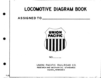 UP Locomotive Diagrams