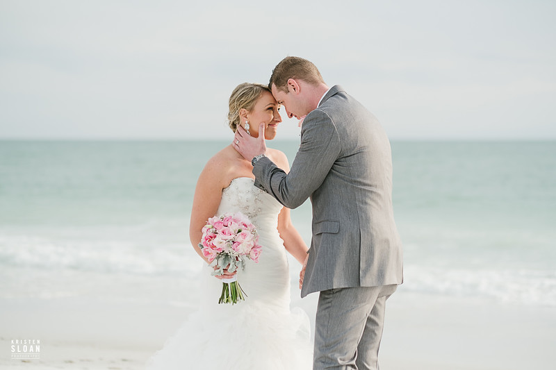 Anna Maria Island Florida Beach Wedding at the Sandbar Restaurant