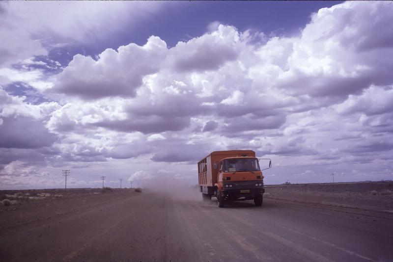 """Namibia 1995, Namib-Desert, ©RobAng """"Es weiten sich die Augen, der Horizont und das Gefühl für die eigene Nichtigkeit..."""""""