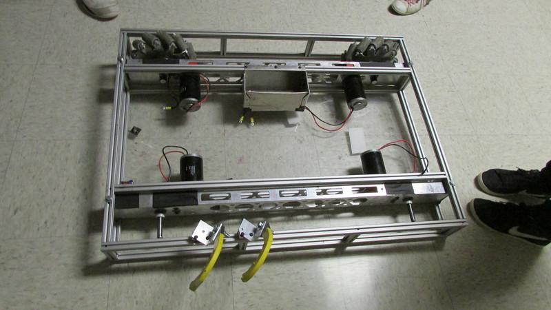 A prototype drivetrain/lift is begun.