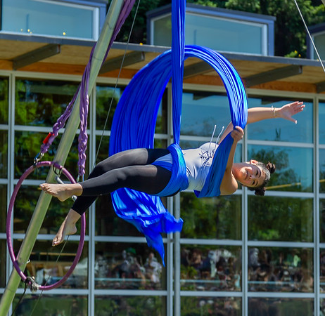 Set eight, UMO Aerial Show 1 at Ober Park, Vashon Island Strawberry Festival 2019