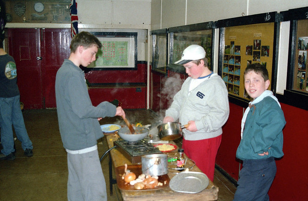 Scout Cooking 2003