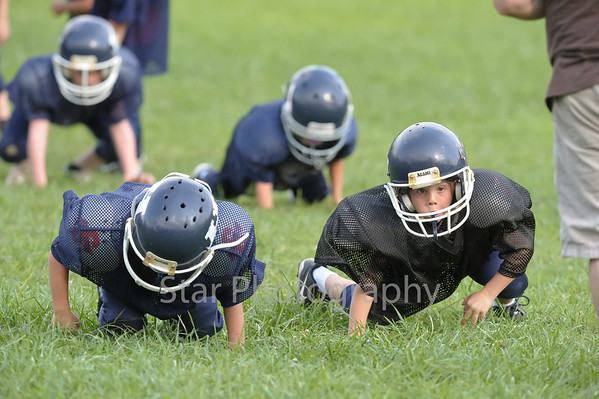 Hampton Youth League Practice 8-5-2013