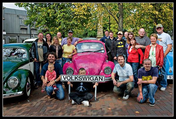 VW Beetles and Campers