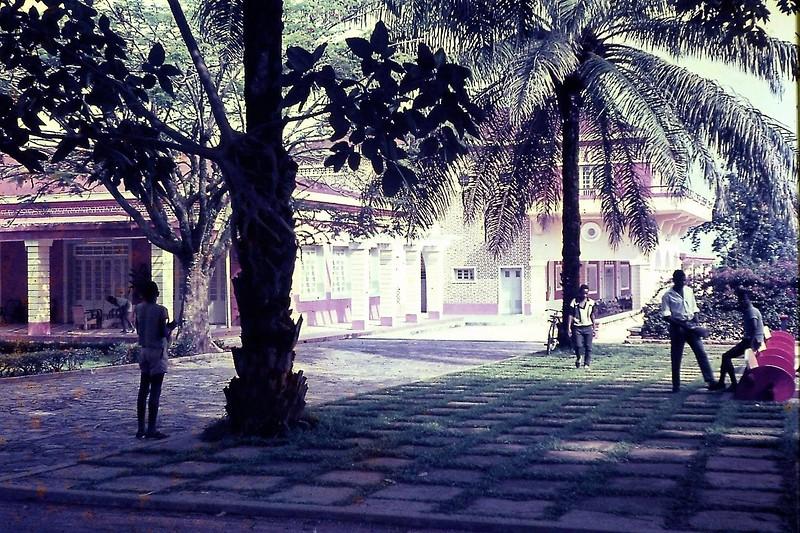Casa do Pessoal - varanda sul 1969 ou 70