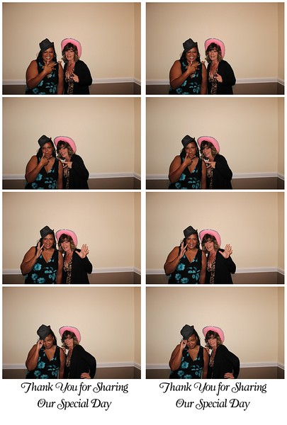 Aerial and Kyle Photo Booth