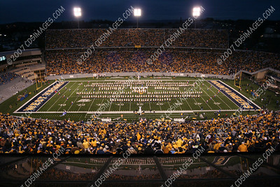 WVU vs Connecticut - Halftime Formations