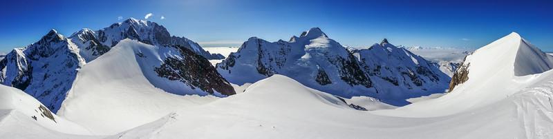 Mont Blanc South Panorama